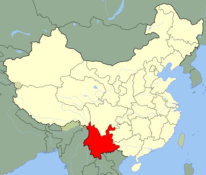 Yunnan_kartegemeinfrei