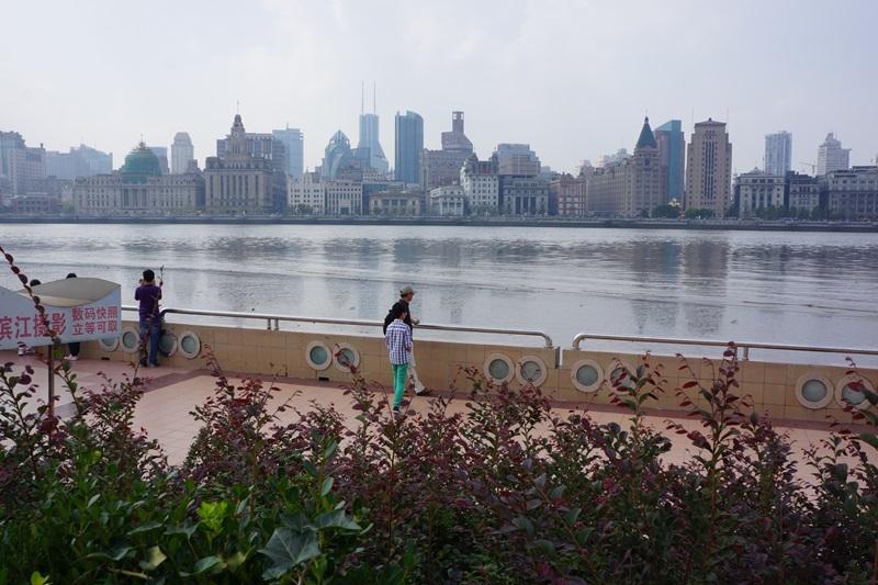 Blick von Pudong zum Bund