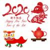 Chinesisches Neujahr: die Ratte kommt